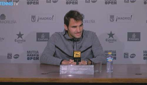 Federer Interview: ATP Madrid
