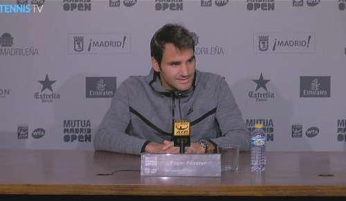 Federer Interview: ATP Madrid