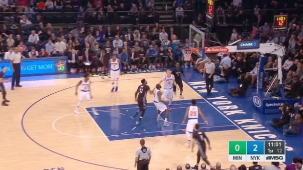 GAME RECAP: Knicks 118, Timberwolves 114