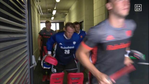 Hockey HF: England - Niederlande