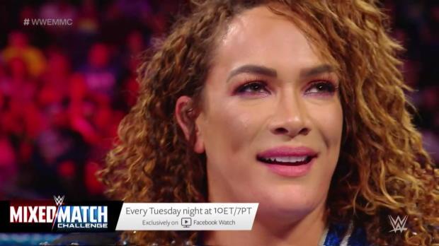 Nia Jax and Apollo humiliate Titus Worldwide on WWE Mixed Match Challenge