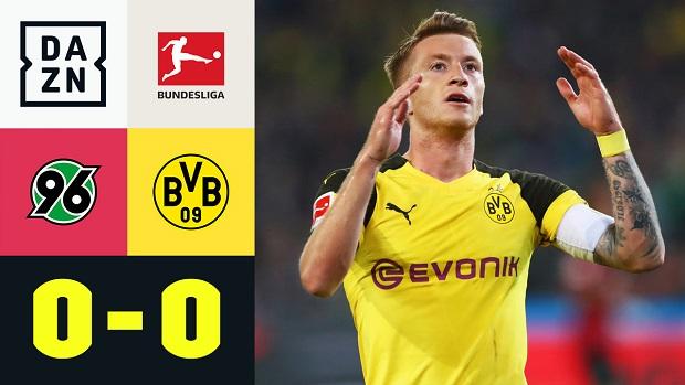 Bundesliga: Hannover 96 - Borussia Dortmund | DAZN Highlights