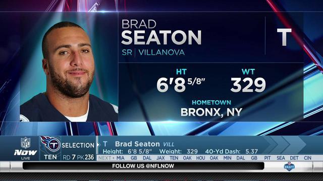 Titans select Brad Seaton No. 236 in the 2017 NFL Draft