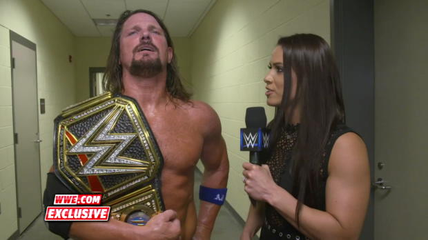 AJ Styles describes his strategy for battling the stronger Rusev: WWE.com Exclusive, July 15, 2018