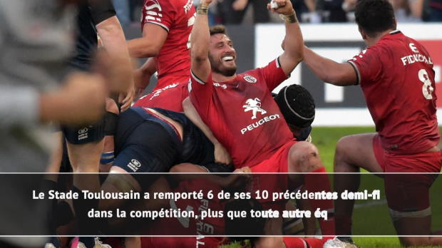 Rugby : Demies - Leinster vs. Toulouse en chiffres