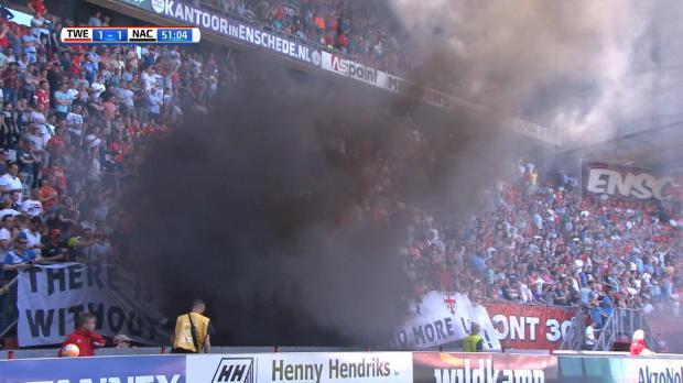 Rauchbomben sorgen für Skandal in Holland