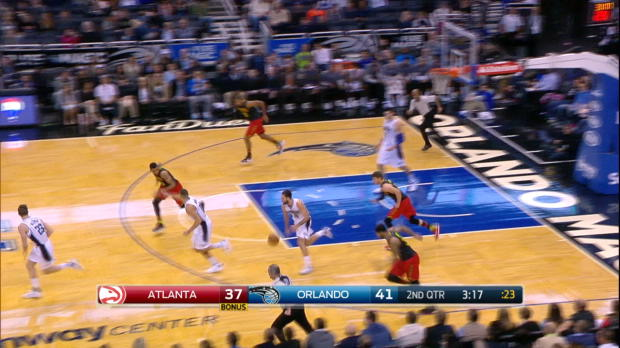 Fast Break of the Night: Victor Oladipo
