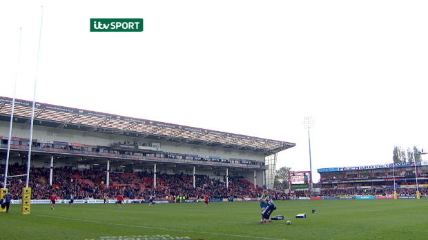 Aviva Premiership - Match Highlights - Gloucester Rugby v Sale Sharks.