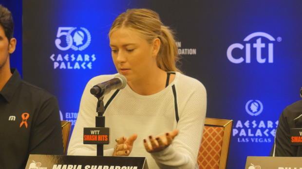 Sharapova ist zurück: Showmatches helfen mir