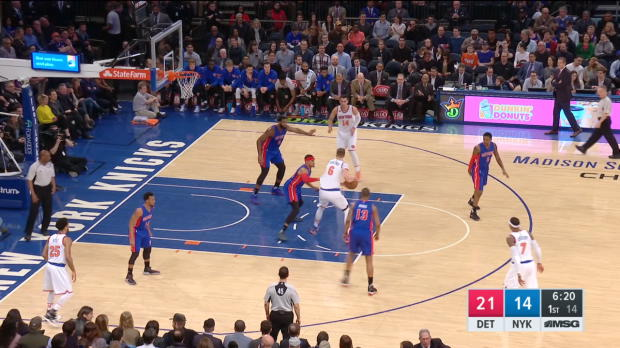 GAME RECAP: Knicks 109, Pistons 95