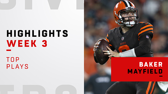 Mayfield's best plays from his NFL debut | Week 3