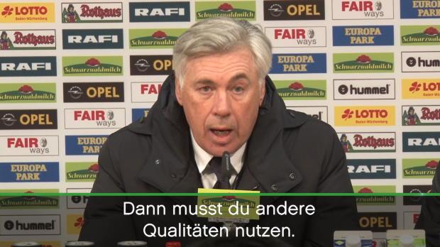 """Ancelotti: """"Nicht immer fantastischer Fußball"""""""