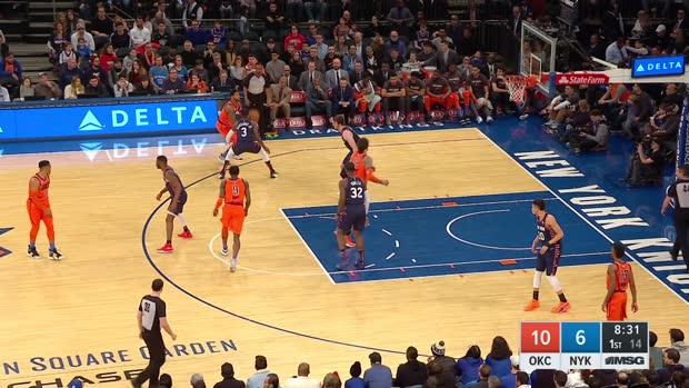GAME RECAP: Thunder 127, Knicks 109