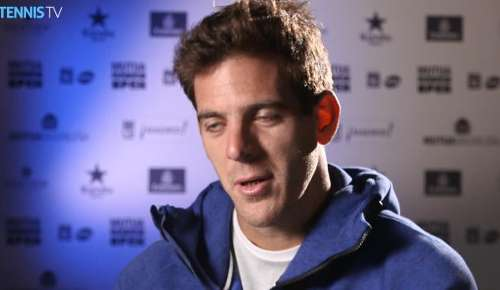 Del Potro Interview: ATP Madrid 1R