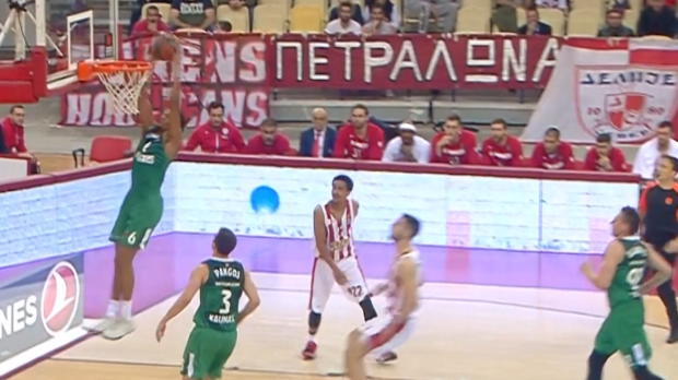 Euroleague: Die Top 3 Plays vom 30. Spieltag