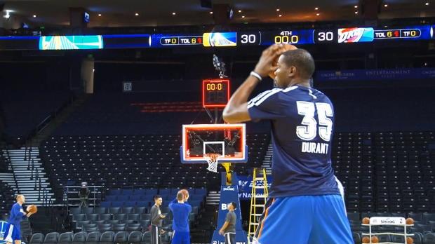 Basket : NBA - Durant absent 2 mois des parquets