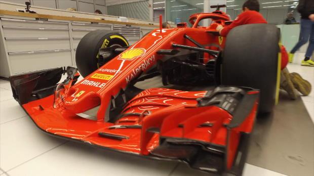 F1: So sieht Vettels neues PS-Monster aus