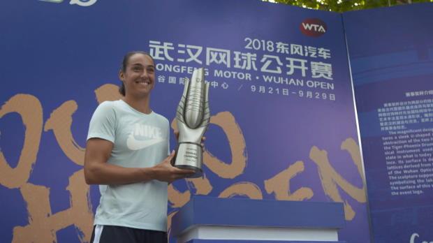 Tennis : Wuhan - Garcia remet son titre en jeu