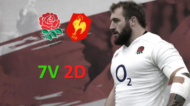 XV de France - France/Angleterre en chiffres