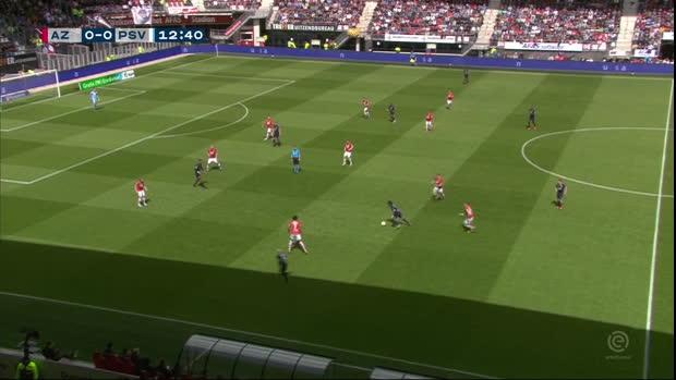 Eredivisie: Alkmaar - PSV | DAZN Highlights