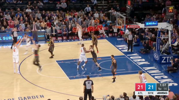 GAME RECAP: Knicks 111, Hawks 107