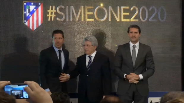"""Simeone nach Verlängerung: """"Ich danke allen"""""""