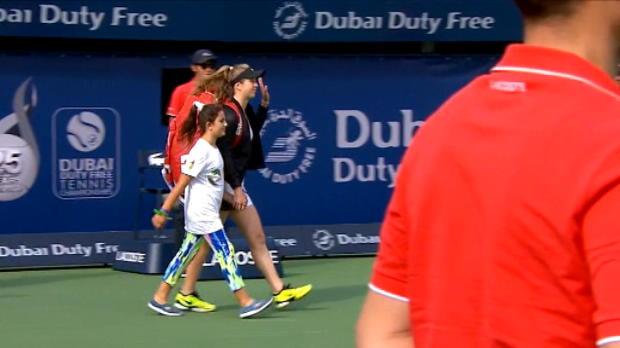 تنس: بطولة دبي: سفيتولينا تهزم ديفيس – 6-0 6-4