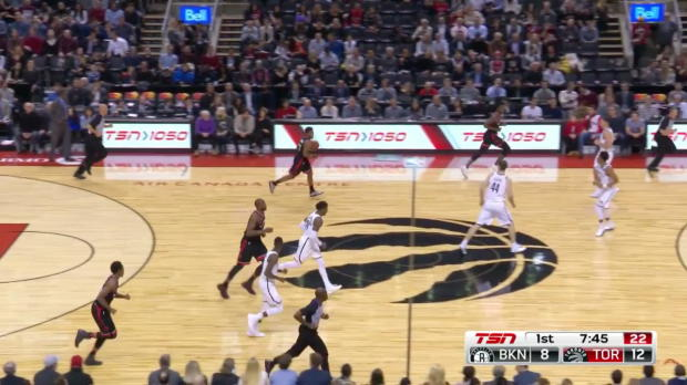 WSC: Kyle Lowry Posts 10 points, 12 assists & 10 rebounds vs. Brooklyn Nets