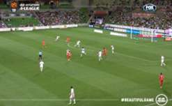 Melbourne City moved back into the top six with a come-from-behind win against Adelaide United.