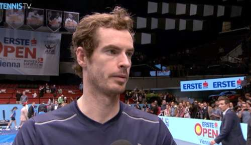 Murray Interview: ATP Vienna Final