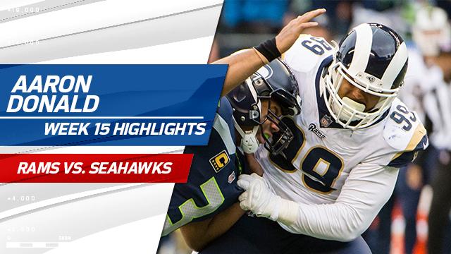 Los Angeles Rams defensive tackle Aaron Donald highlights | Week 15