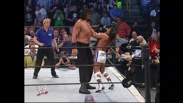The Great Khali destroys Funaki in his debut: SmackDown, April 21, 2006