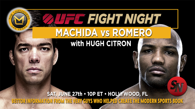 UFC Fight Night Machida VS Romero