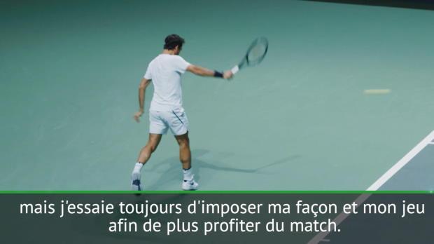 "Basket : Rotterdam - Federer - ""J?essaie d'imposer mon jeu"""