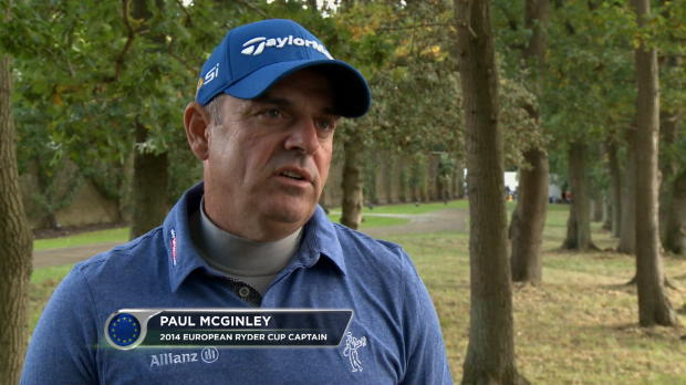Europe will be ready next Ryder Cup - McGinley
