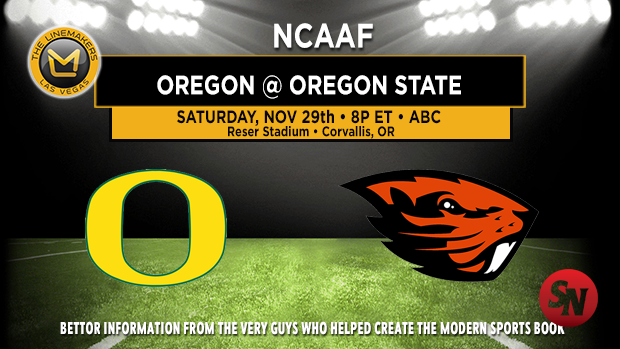 Oregon Ducks @ Oregon State Beavers