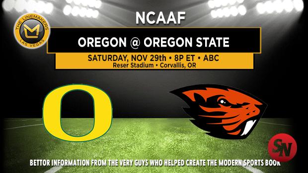 Oregon Ducks @ Oregon State Beavers