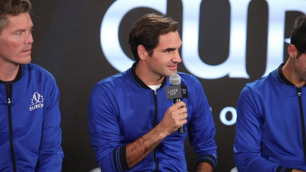 Laver Cup: Federer und Djokovic im Doppel