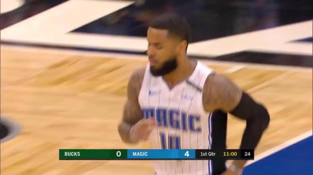 WSC: D.J. Augustin (32 points) Highlights vs. Milwaukee Bucks, 03/14/2018