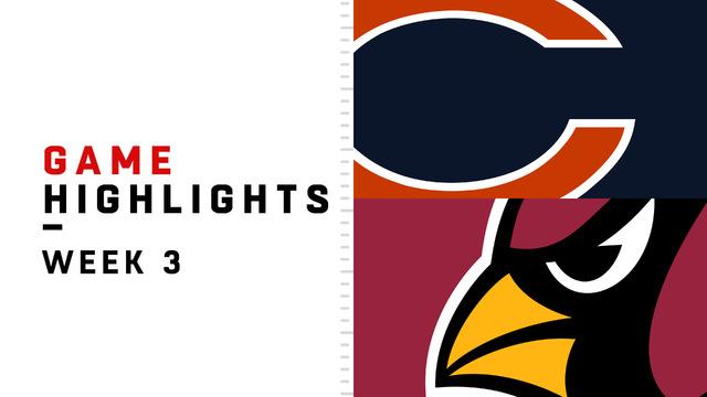 Bears vs. Cardinals highlights | Week 3