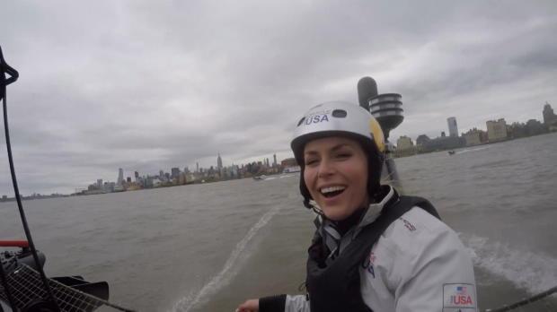 Segeln: Ski-Star Vonn vor New York an Bord