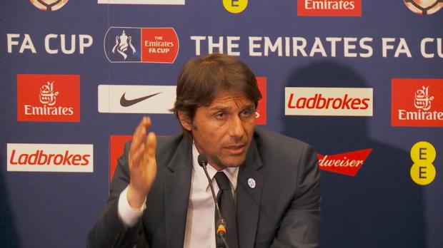 """FA-Cup: Conte: """"Sanchez-Tor klares Handspiel"""""""