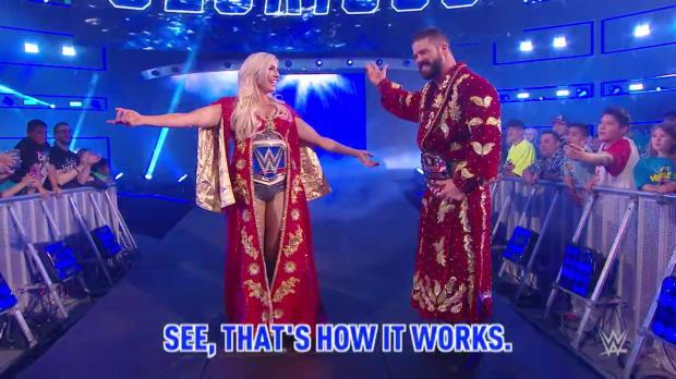 Listen to the many ways Titus Worldwide annoyed Nia Jax on WWE MMC