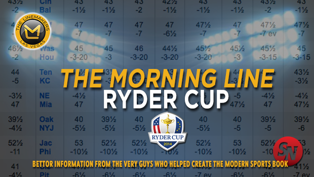 Morning Line - Ryder Cup