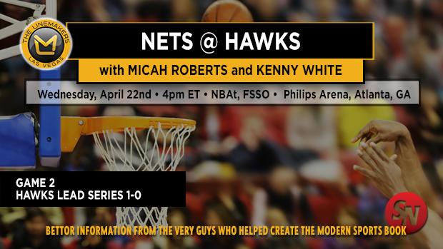 Nets @ Hawks Game 2