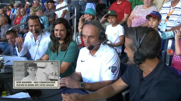 Manfred on Little League Classic