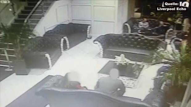 Schockierende Szenen in Liverpooler Restaurant!