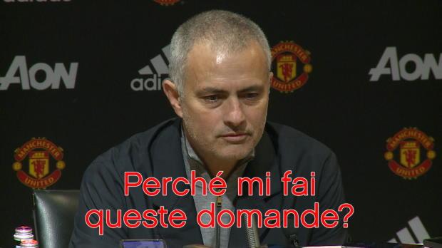 Mourinho, parole e malumore...