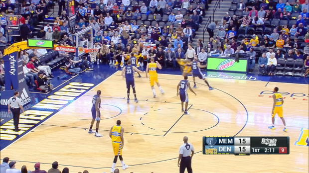 GAME RECAP: Grizzlies 105, Nuggets 98