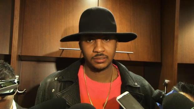 """Basket : NBA - Knicks - Anthony - """"On se bat nous-mêmes"""""""